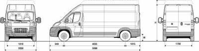 ducato furgon, gris 1ºcta+20% cta2+80%financiado,12 un (men)