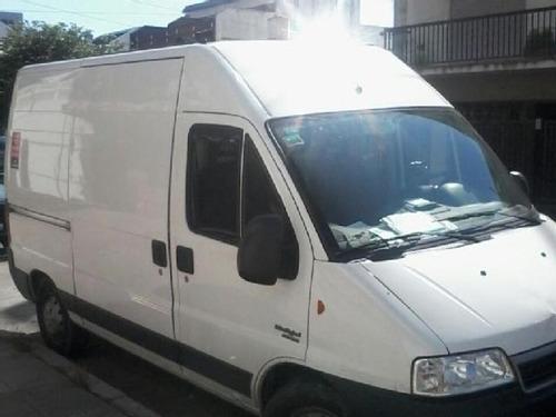 ducato furgón maxicargo puesta en calle con usado y cuotas b