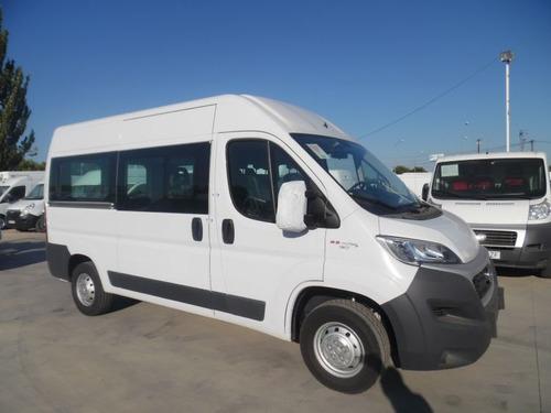ducato minibus 0km entrega inmediata $280.000 y cuotas 0% e-