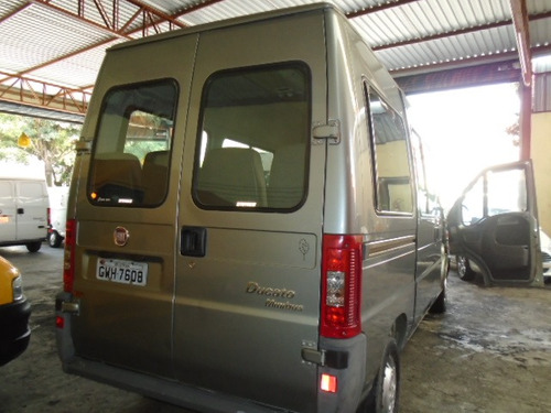 ducato minibus 2.8 - 16 lugares - ano: 2009/2009 completa
