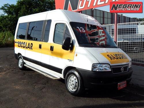ducato minibus escolar 2012/2013 negrini utilitários