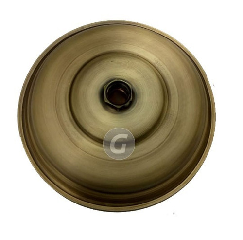 ducha 20cm bronce antiguo vitage con tubo 40cm