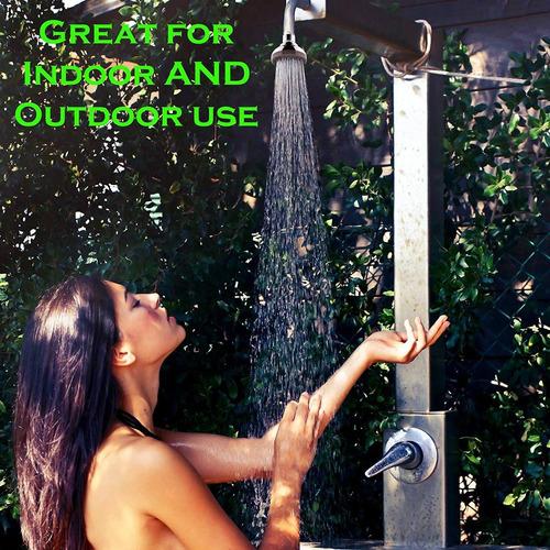 ducha de alta presión de 3.0 in para aumentar el flujo bajo