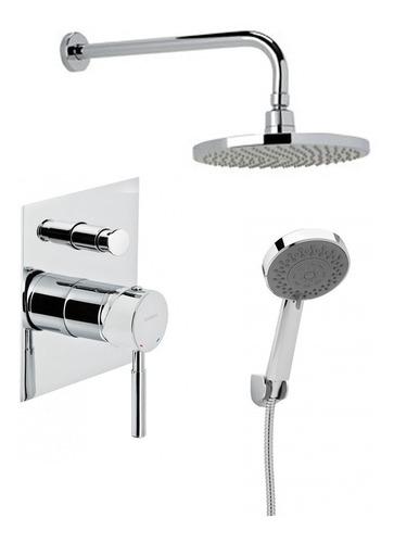ducha de embutir c/transferencia a duchador genebre tau