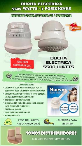 ducha electrica 3 posiciones - calefon duchador 5400w oferta