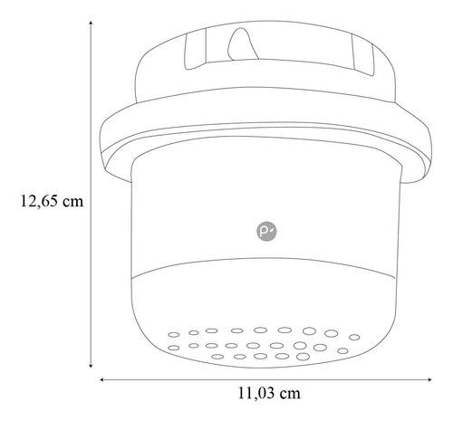 ducha eléctrica boccherini 120v (110v) blanca con graduación