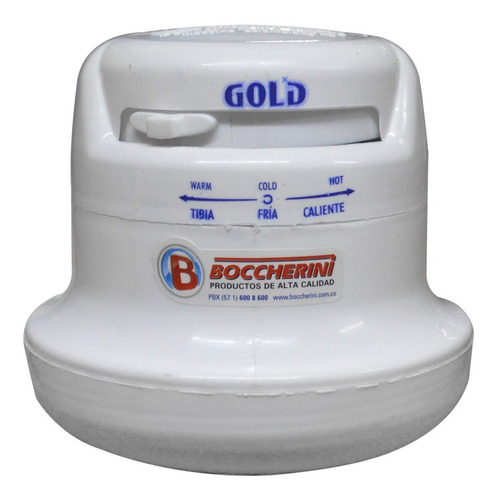 ducha electrica boccherini gold 110v 3 temperaturas