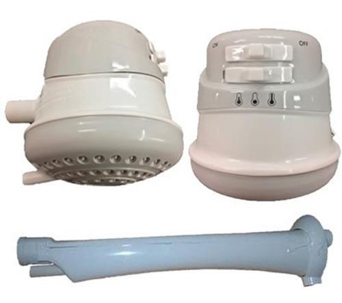 ducha electrica con brazo 3 posiciones - calefon duchador