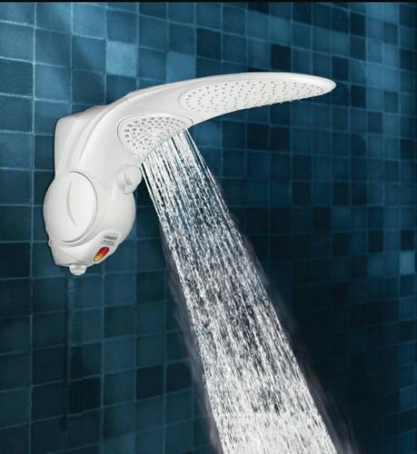 ducha eléctrica duo shower, 220v lorenzetti, blanca