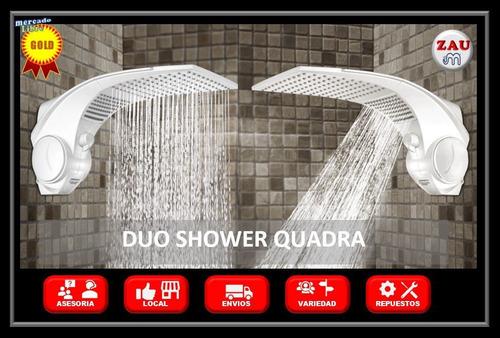 ducha eléctrica duo shower quadra lorenzetti blanca 110 vol