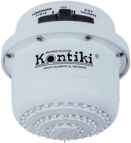 ducha eléctrica kontiki calentador 3 temperaturas regadera