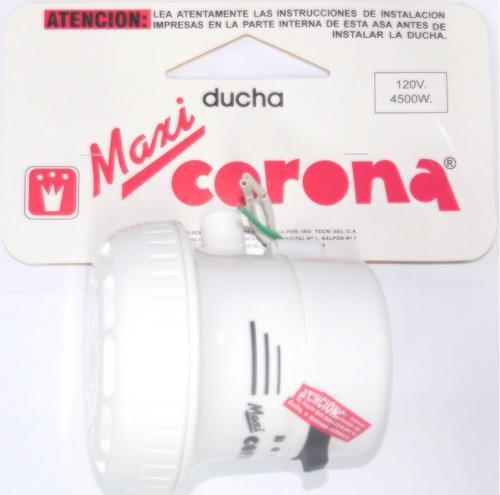 ducha eléctrica maxi corona blanca 120 v