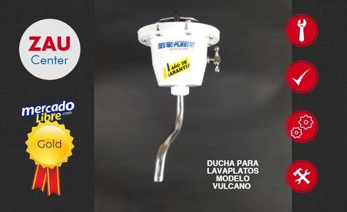 ducha eléctrica para lavaplatos calentador vulcano, 110v