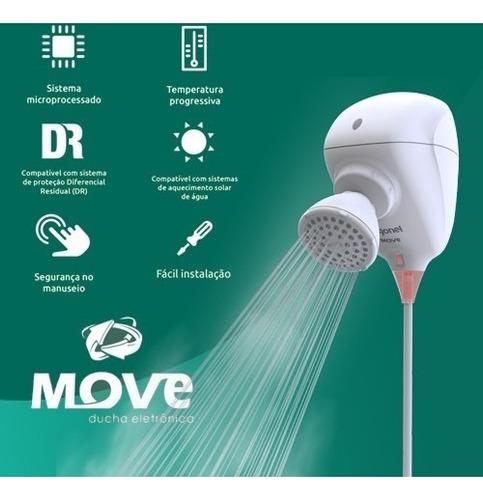 ducha eletrônica move 127v 5500w - zagonel