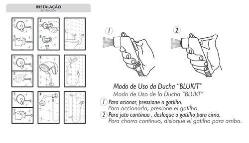 ducha higienica blukit