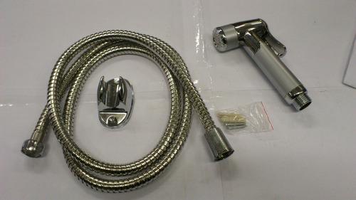 ducha higienica con flexible soporte de pared  tacosfisher