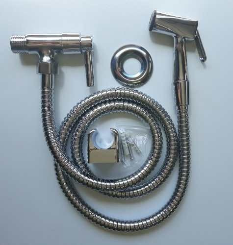 ducha higiênica luxo metal cromada acionamento 1/4 d volta