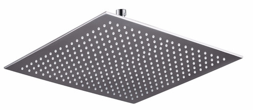 ducha regadera metálica de alta calidad 15 x 15 x 0.5