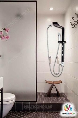 ducha torre para baños moderna multri chorros relajante spa