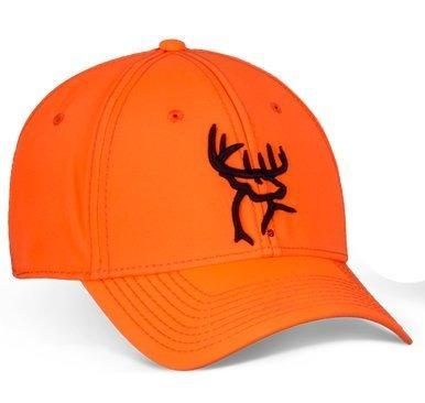 duck commander naranja entallada aflex gorra de buck logo