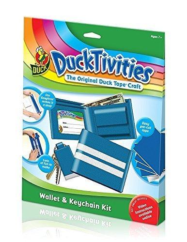 duck monedero actividades y kit de llavero