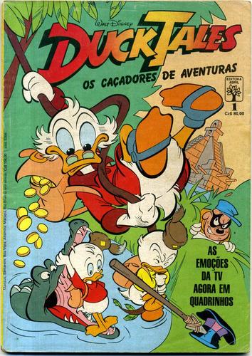 duck tales nº 1 - muito bom estado