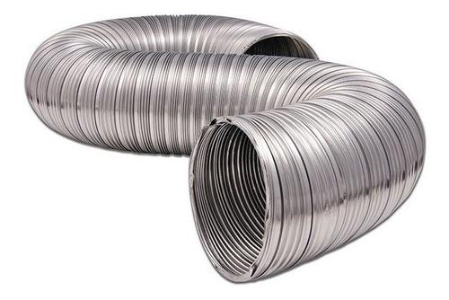 """ducto flexible 4"""" x 8"""" aluminio"""