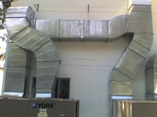 ductos aire acondicionado laminas galvanizadas pitre venta
