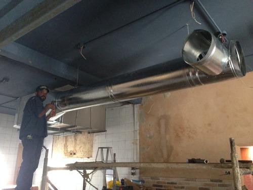 ductos cilindricos, ductos galvanizado, ductos para cocinas
