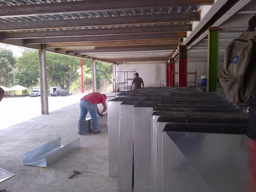 ductos, ducteria aire acondicionado, ductos cilindricos, p3