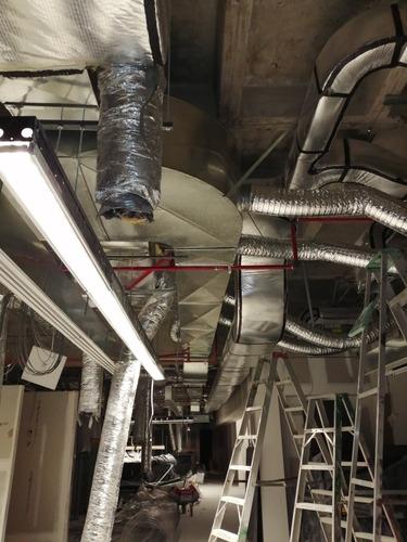 ductos en lámina galvanizada