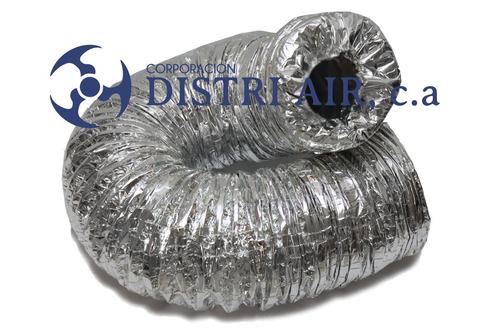 ductos flexibles de 6 ,8 ,10 ,12 ,14 ,16  pulgadas