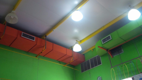 ductos, pintura de ductos para aire, ductos cilindricos
