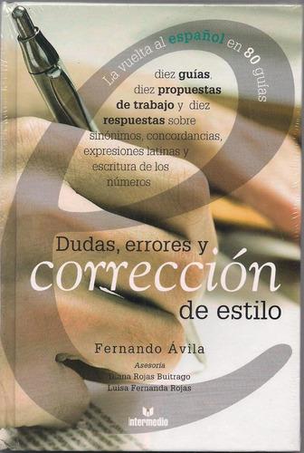 dudas, errores y corrección de estilo