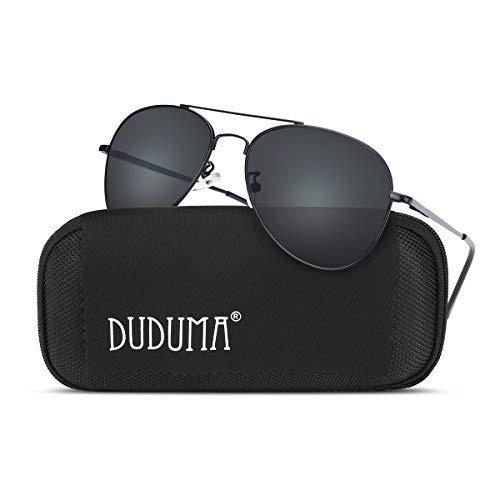 5198976fc384d Duduma Gafas De Sol Tipo Aviador Para Hombre