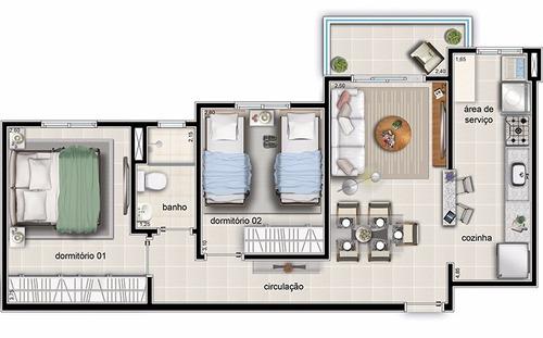 due fratelli pronto para morar no programa minha casa minha vida - ap00210 - 4823040