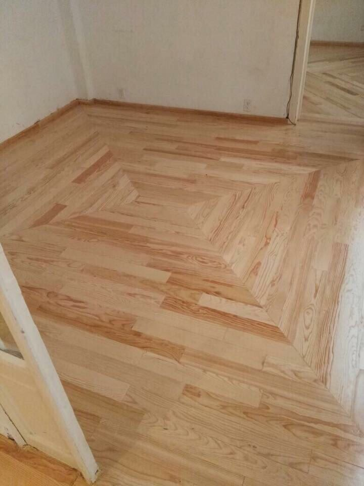 Duela de pino madera s lida tratada para piso en interiores en mercado libre Duelas de madera