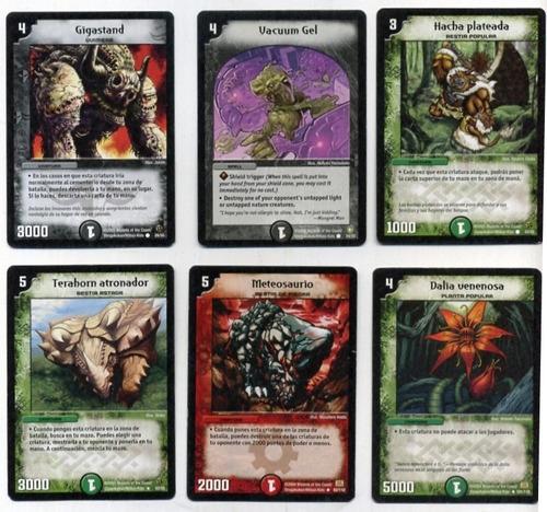 duelmasters cartas, vintage 2004 - 2005, ver...ver...