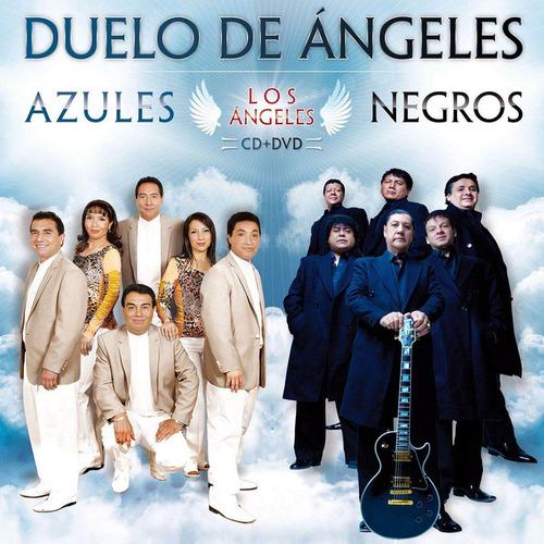 duelo de angeles angeles azules negros cd + dvd
