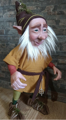 duende artesanal articulado 40 cm