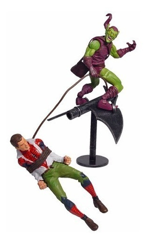duende verde e homem aranha - marvel select - cod. 10768