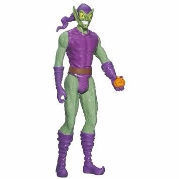 duende verde original hasbro spider-man muñeco spider 6825