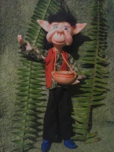 duendes artesanales articulados de 30 cm