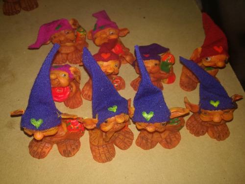 duendes  porta saumerios en miniaturas. venta por docena.