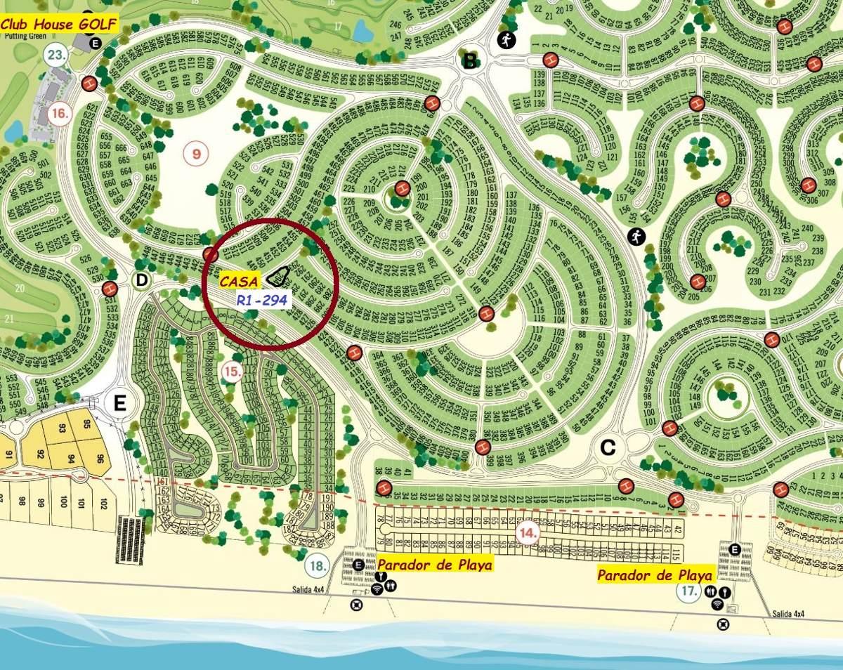 dueño alquila costa esmeralda parque, galeria parrilla wifi