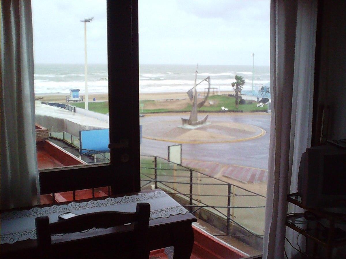 dueño alquila duplex 3 amb. fte. al mar / bunge y av.del mar