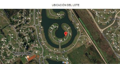 dueño directo - lote 1110  a la laguna - san matías