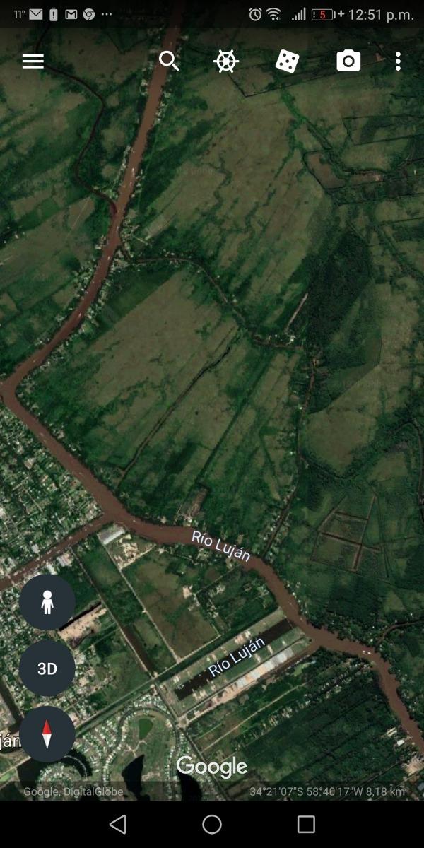 dueño directo lote nautico salida río lujan directo mejoras