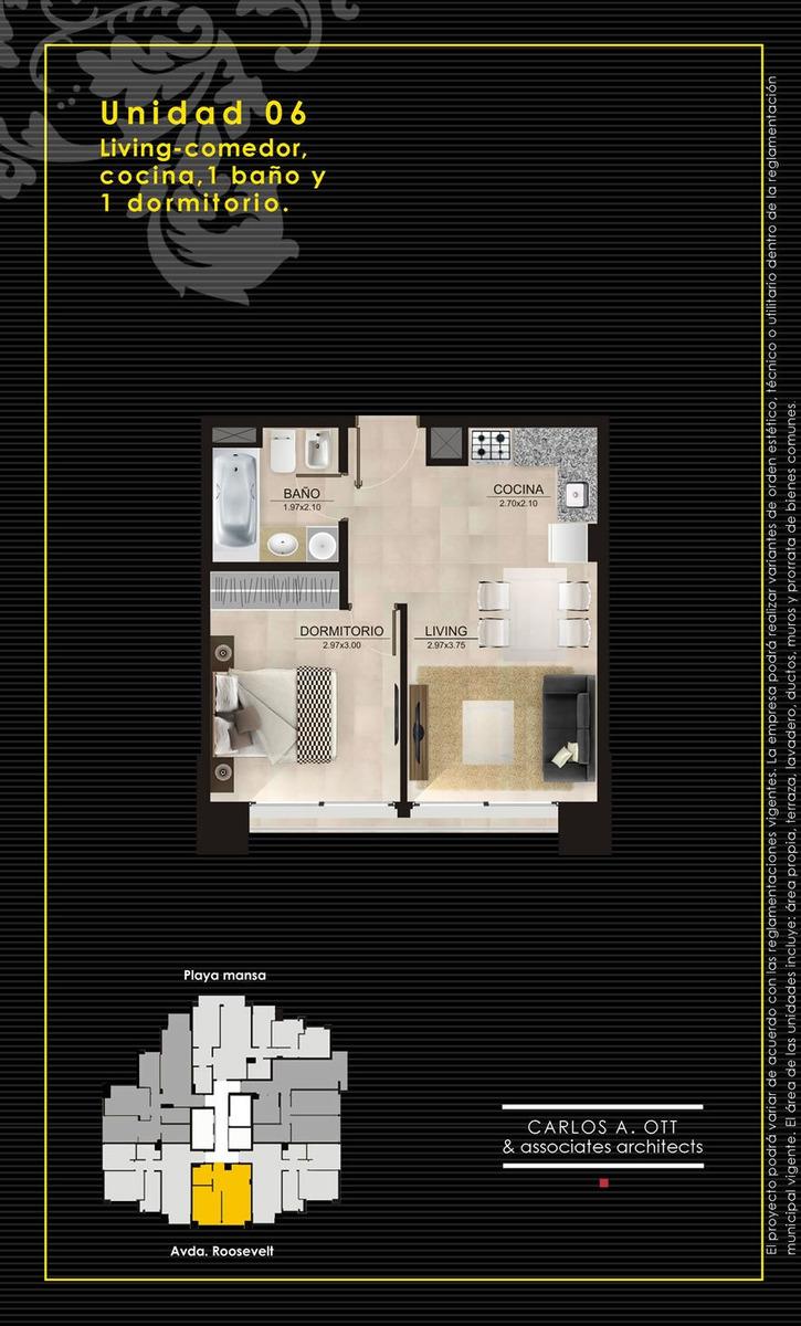 dueño -oportunidad -ed. summer tower - 1 dormitorio y garaje