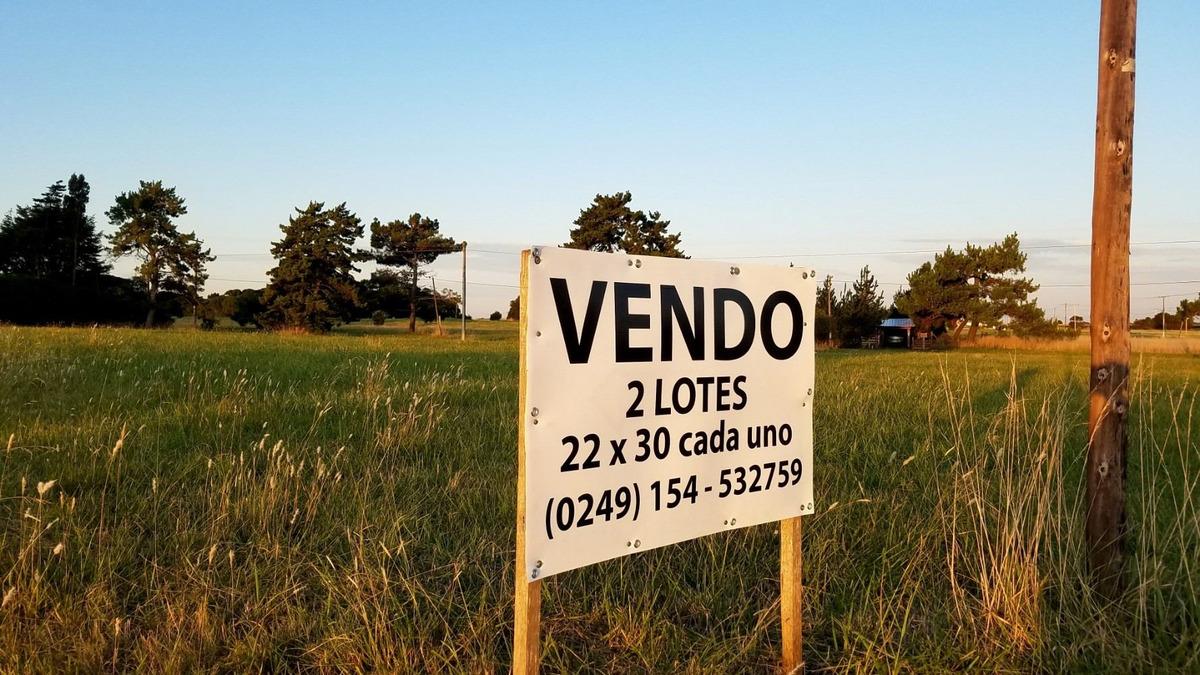 dueño vende dos (2) lotes en barrio el marquesado, urgente!!